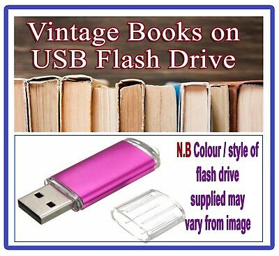 London - English History - Rare Books USB Drive - People Places Old City Maps A3