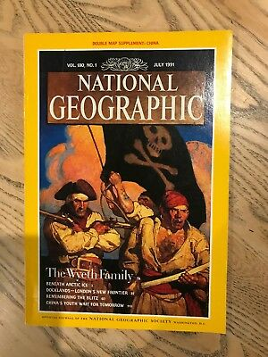 National Geographic July 1991- London docklands- East End Article