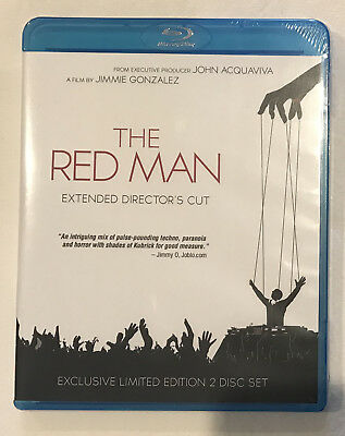 The Red Man Blu-ray Limited 2-Disc Set Thriller Giallo NEW