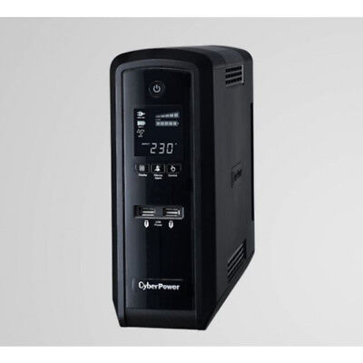 PFC Sinewave Series 1300VA/780W (10A) Tower UPS with LCD and 6 x AU CyberPower