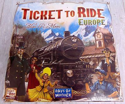 DAYS OF WONDER Ticket to Ride Europe Board Game Party Game - Alan R. Moon - Y99