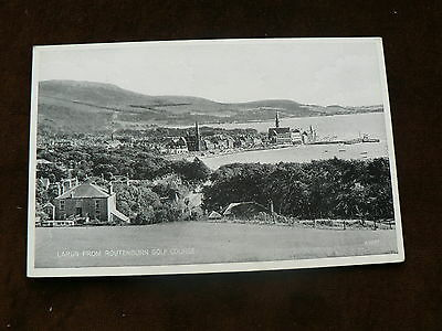 Old Postcard, Largs from Routenburn Golf Course, Ayrshire