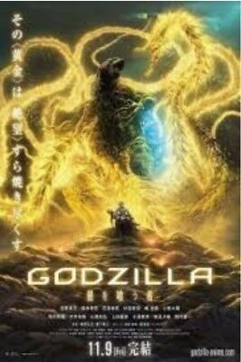 Movie Godzilla Part 3: The Planet Eater - Not Code-Not Dvd - Fast 💥 Download 📩