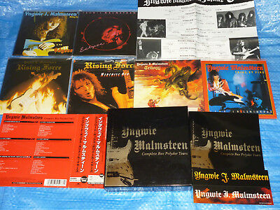 Yngwie Malmsteen Complete Box Polydor Years Mini LP CD BOX SET JAPAN UICY90273/8