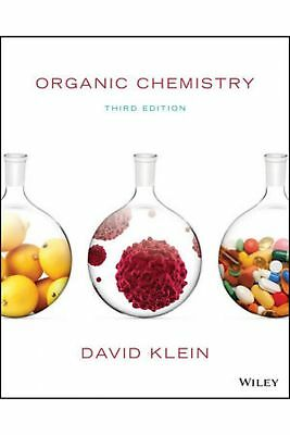 Organic Chemistry Klein 3rd Edition PDF(Textbook+manual solution) 9781119447719
