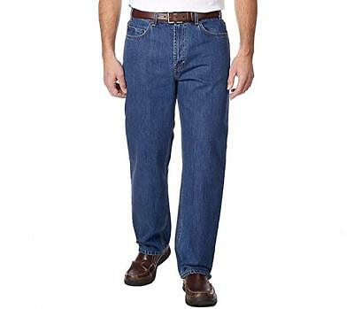 Men's Kirkland Signature Relaxed Fit Light Washed Jeans Choose Size & Color