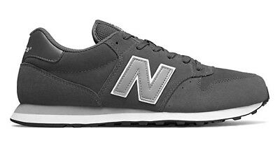 Brand New Balance 500 Gray GM500DGC Mens Running Shoes Size 9.5