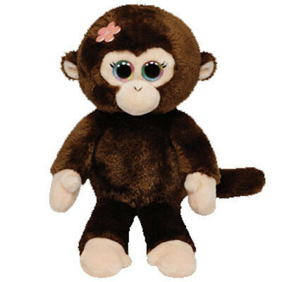 TY Beanie Baby - PETALS the Monkey (6 inch) - MWMTs Stuffed Animal Toy