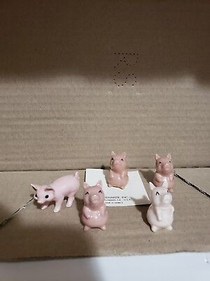 Hagen Renaker Old Pigs and one fantastic copy