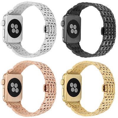 Stainless Steel iWatch Bling Band Bracelet Strap 38/42mm 40/44mm For Apple Watch