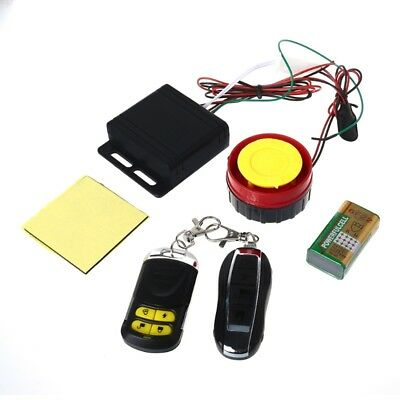 Universal Bike Motorcycle Alarm System Scooter Remote Control Anti-theft Securit