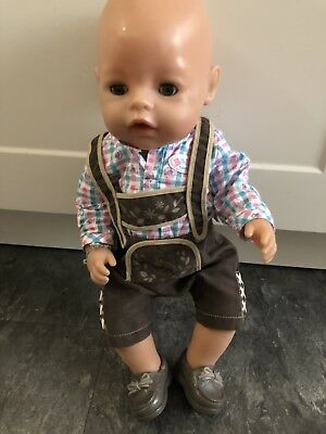 Baby Born Puppenkleidung Tracht