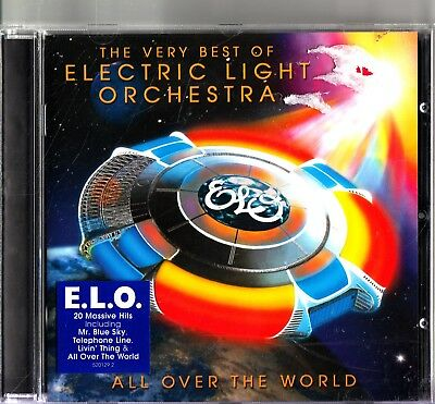 ELECTRIC LIGHT ORCHESTRA-ELO All Over The World-Very Best Of/Greatest Hits- CD