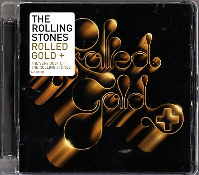 THE ROLLING STONES- Rolled Gold+ 2 CD- The Very Best Of/Greatest Hits (Jagger)