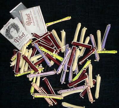 Job Lot 50+ L'Oreal Hair Rollers Curlers Performance Perm Rods & Styling Pack