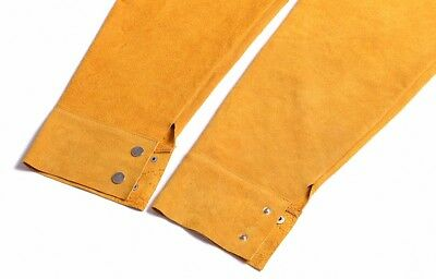 1 Pair Leather Cooling Arm Sleeves Cover for Welding [CAPT2011]
