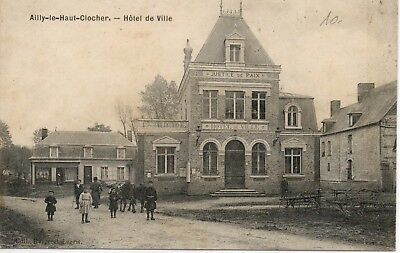 cpa 80 Ailly le haut clocher