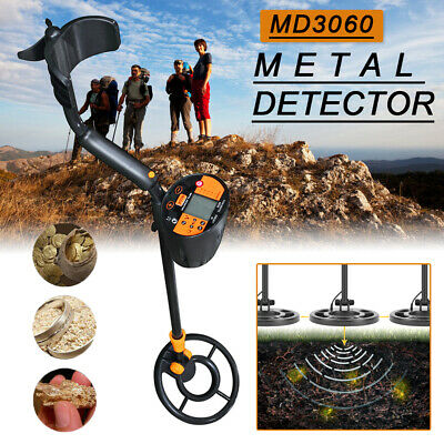 MD3060 Underground Metal Detector Gold Finder Treasure Jewelry Digger Tool UK