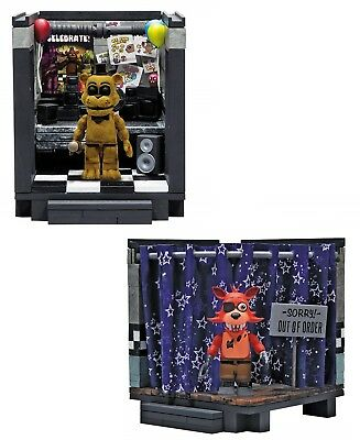 Five Nights At Freddys Construction Small Set Classic Series McFarlane