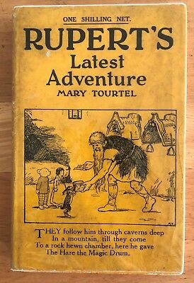 Mary Tourtel Rupert LATEST ADVENTURE Little Bear Library No 25 1932 G/VG in D/W