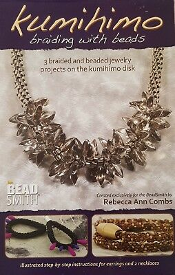 Beadsmith Kumihimo Braiding with Beads Booklet Jewellery Making - FREE POST