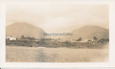 WWII 1940s Wailuku Maui Hawaii photo #9 valley view