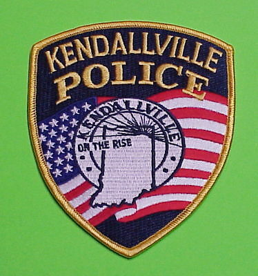 """Kendallville  Indiana  In  """" On The Rise """"   Police Patch   Free Shipping!!!"""
