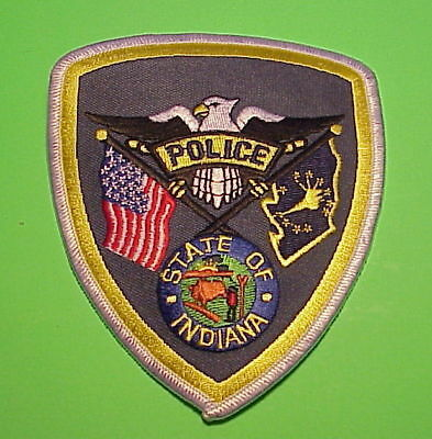 Indiana  State  Police Dept  Police Patch   Free Shipping!!!