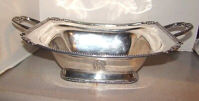 William Thomson New York Early 19th Century American Coin Silver Serving Bowl