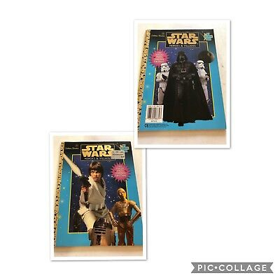 Star Wars Book And Magazines Total Of (6)