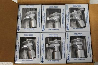 "Case of 24 ProFlo FastFit 5/8"" x 3/8"" Lever Handle Stop Valves PFXQAQ32C"