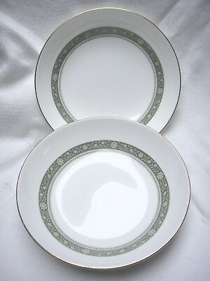 Two Soup Bowls by Royal Doulton in the ''Rondelay'' Design