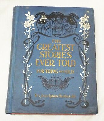 RARE Old Antique 5 SALESMAN SAMPLE Children's BOOKS in One Book Greatest Stories