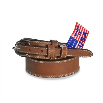 "R.G. BULLCO RGB-122 1-1/2"" Brown Ranger Leather Belt - Size 42"