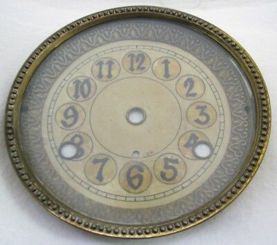 Antique Mantel Clock Dial Bezel Parts Repair