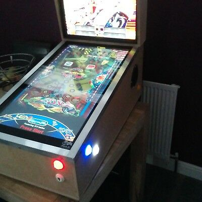 Digital Pinball Machine With 300+ Tables