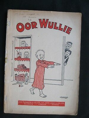 Scarce OOR WULLIE 1953 text block only Book Annual 1952 pub