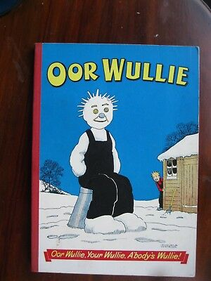 OOR WULLIE 1957 Book, Comic, Annual (Published 1956)  V.G.C.