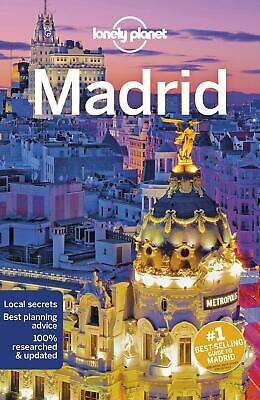 Lonely Planet Madrid by Lonely Planet Paperback Book Free Shipping!