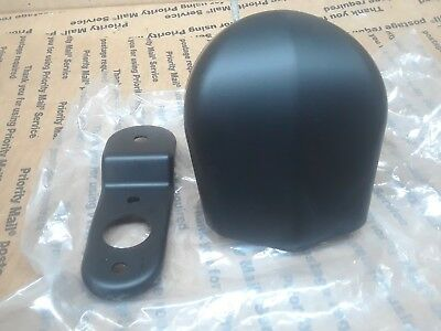 Harley-Davidson Satin Black Horn Cover With Bracket