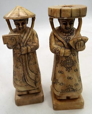 2 Lacquer and Wooden Wares Vietnam Japanese Style Ornament Decorative -PLT18 A21