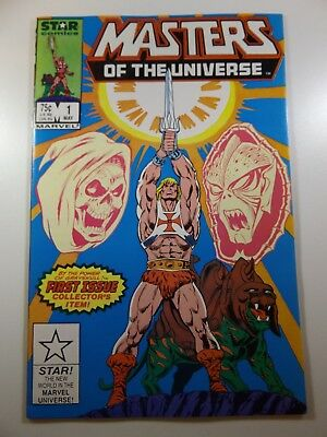 Masters of The Universe #1 Star Comics Series NM- Condition!!