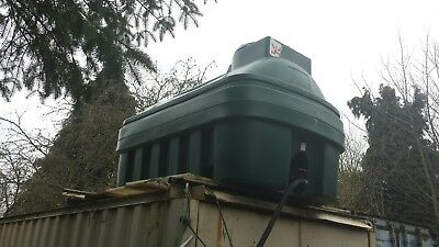Bunded fuel tank, oil or diesel. 1000 litres
