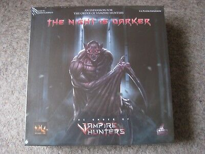 THE ORDER OF VAMPIRE HUNTERS Expansion The Night is darker 2017 OVP/NEU Englisch