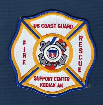 ALASKA - US Coast Guard Support Center Kodiak Fire Patch !