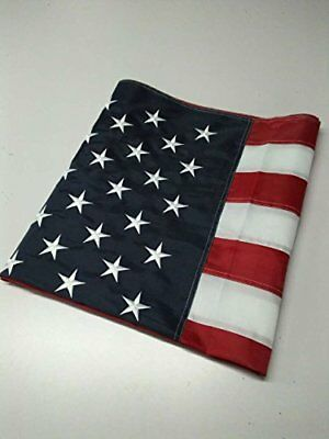 American Flag with Embroidered Stars 3 Ft. X 5 Ft.
