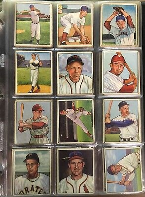 Vintage Baseball Card Collection FULL SETS! 1952-58 TOPPS; 1948-55 BOWMAN; +MORE