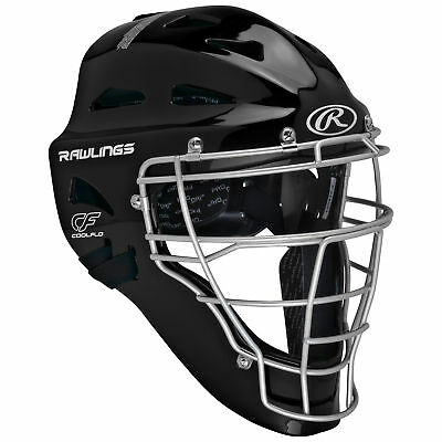 Rawlings Renegade Coolflo Hockey Style Baseball/Softball Umpire Mask - Black
