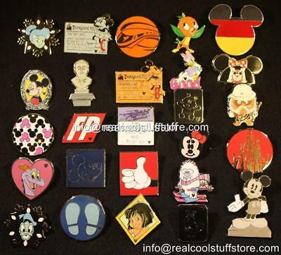 Disney Pin Lot 50 Random - No Duplicates - 100% Disney - FREE US Shipping - N