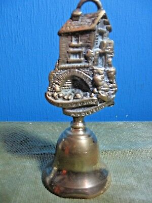 Vintage Brass Hand Bell  (Old Bridge House Ambleside )